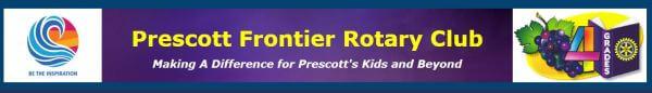 Prescott Frontier Rotary Race registration logo