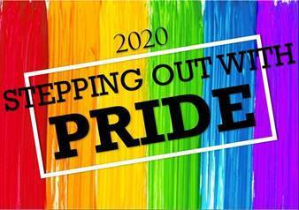 Pride Month Virtual 5K Run registration logo
