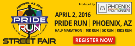 Pride Run & Street Fair registration logo