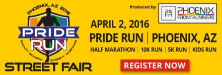 Pride Run & Street Fair registration logo