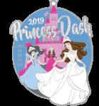 Princess Dash 1 Mile, 5K, 10K, 13.1, 26.2 registration logo