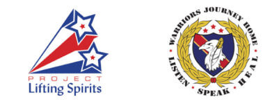 Project Lifting Spirits and Warriors Journey Home 5k/10k registration logo