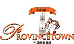Provincetown Pilgrim 5k Trot registration logo