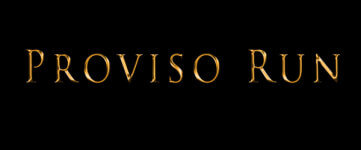 Proviso Run registration logo