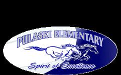Pulaski Elementary Beta Club 5k registration logo