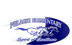 Pulaski Elementary Beta Club 5k registration logo