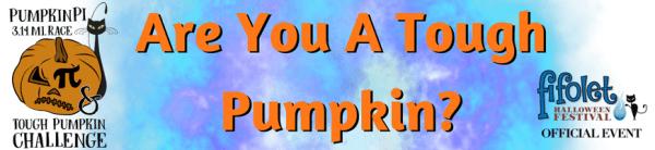 Pumpkin Pi 3.14 Mile Race & Tough Pumpkin Challenge registration logo