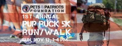 Pup Ruck 5K Run/Walk registration logo