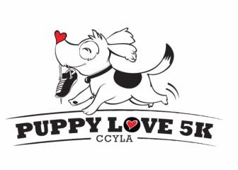 PUPPY LOVE 5K registration logo