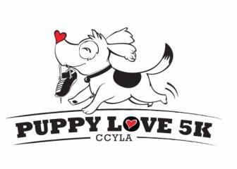 PUPPY LOVE 5K registration logo