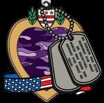 Purple Heart Day 1 Mile, 5K, 10K, 13.1, 26.2 registration logo