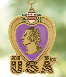 Purple Heart Day 5K & 10K - Clearance from 2018 registration logo