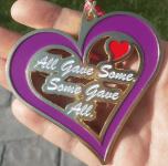 Purple Heart Day 5K & 10K - Clearance registration logo