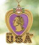 Purple Heart Day 5K/10K registration logo