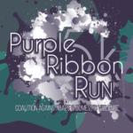 Purple Ribbon Run registration logo