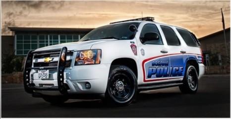 Push the Police Car registration logo