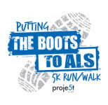 Putting the Boots to ALS 5k Run/Walk registration logo
