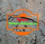 PYRO'S MEDARIS MADNESS 5K registration logo