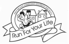 QU PA Run for your Life 5k registration logo