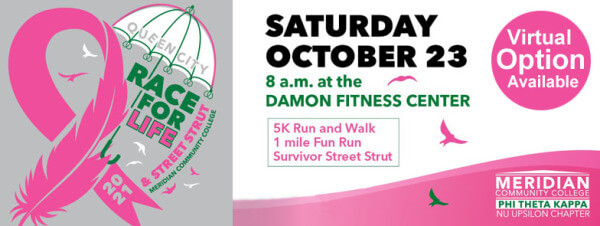 Queen City Race For Life registration logo