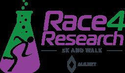 Race 4 Research 5K & Walk registration logo