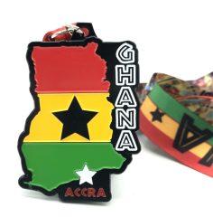 Race Across Ghana 1M 5K 10K 13.1 26.2 registration logo