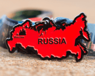 Race Across Russia 5K, 10K, 13.1, 26.2 registration logo