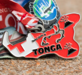 Race Across Tonga 5K, 10K, 13.1, 26.2 registration logo