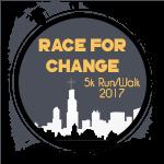 Race For Change registration logo