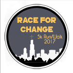 Race For Change registration logo