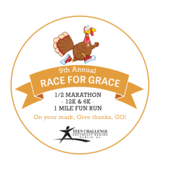 Race For Grace Dublin Georgia  registration logo