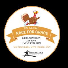 Race For Grace Dublin Georgia  registration logo