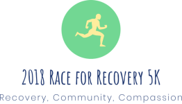 Race for Recovery 5K registration logo