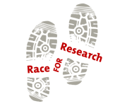 Race for Research registration logo