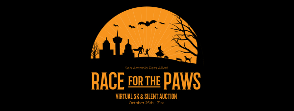 Race for the Paws registration logo