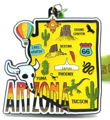 Race Through Arizona 1M 5K 10K 13.1 26.2 50M registration logo