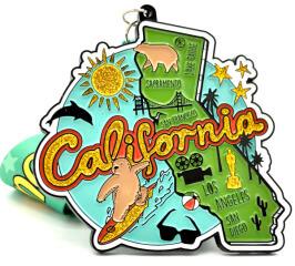 Race Through California 1M 5K 10K 13.1 26.2 50M registration logo