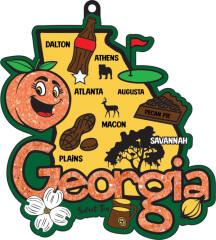 Race Through Georgia 1M 5K 10K 13.1 26.2 50M