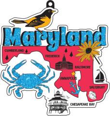 Race Through Maryland 1M 5K 10K 13.1 26.2 50M