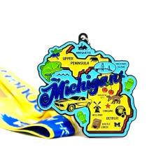 Race Through Michigan 1M 5K 10K 13.1 26.2 50M registration logo