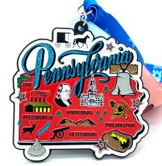 Race Through Pennsylvania 1M 5K 10K 13.1 26.2 50M registration logo