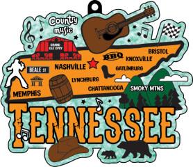 Race Through Tennessee1M 5K 10K 13.1 26.2 50M