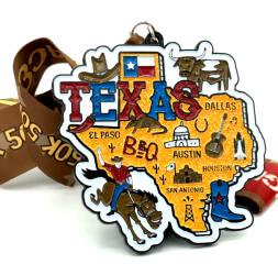 Race Through Texas 1M 5K 10K 13.1 26.2 50M registration logo