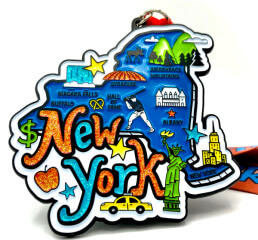 Race Through New York 1M 5K 10K 13.1 26.2 50M registration logo