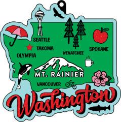 Race Through Washington 1M 5K 10K 13.1 26.2 50M