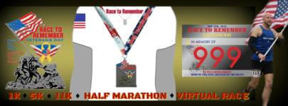 Race to Remember - Veterans Day registration logo