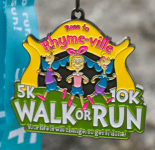 Race to Rhyme-Ville - 5K, 10K, Walk or Run, Your Life Will Change, So Get It Done registration logo