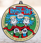 Race to Rhyme-Ville 5K & 10K - Clearance from 2018 registration logo