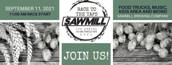 Race To The Taps registration logo