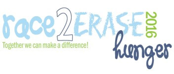 Race2Erase Hunger Virtual Run registration logo
